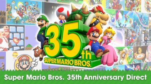 Peringatan 35 tahun Super Mario Bros. (Foto: Nintendo.com)