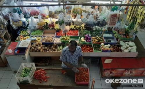Ilustrasi pasar. (Foto: Dok Okezone/Heru Haryono)