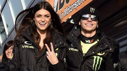 Linda Morselli dan Valentino Rossi