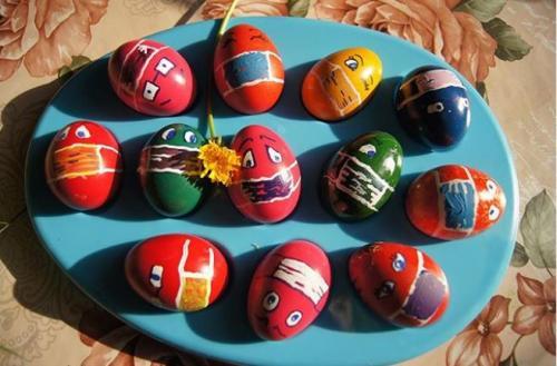 Telur Bermasker