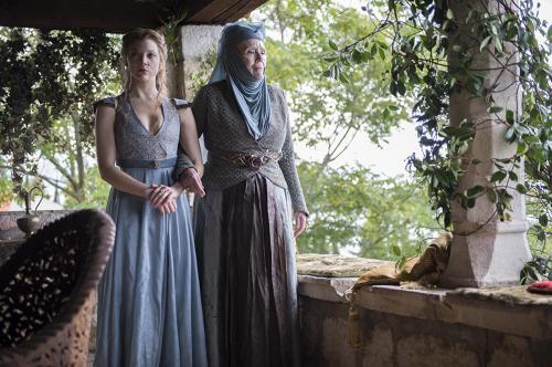 Penampilan Diana Rigg di Game of Thrones
