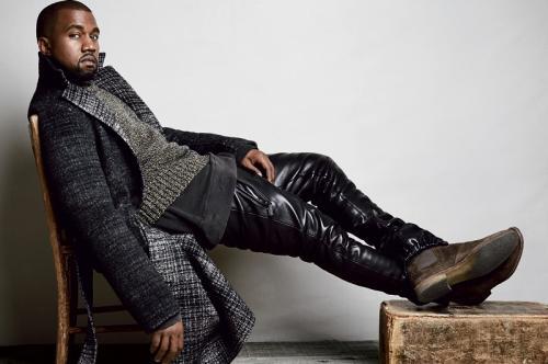 Kanye West sindir Kim Kardashian dalam lagu barunya? (Foto: GQ)