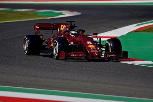 Scuderia Ferrari menggunakan livery khusus (Foto: Scuderia Ferrari)
