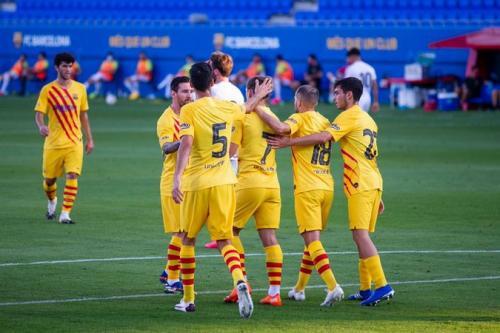 Kondisi Barcelona bakal pengaruhi peluang Real Madrid (Foto: Twitter/@FCBarcelona)