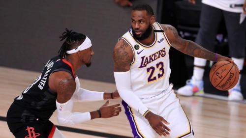 LA Lakers lolos usai kandaskan Houston Rockets