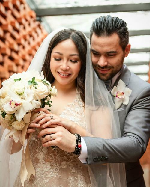 Chef Marinka resmi menikah. (Foto: Instagram/@rinrinmarinka)