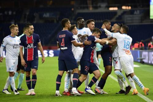 PSG vs Marseille