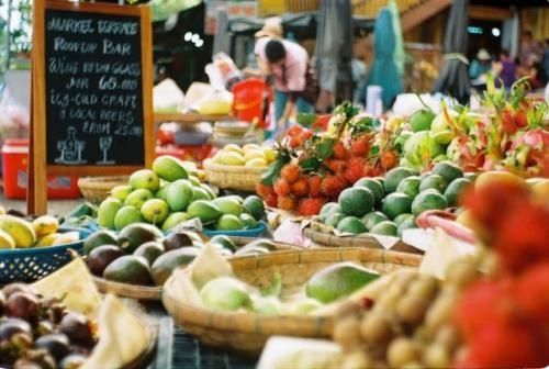 Buah-buahan. (Foto: Unsplash)