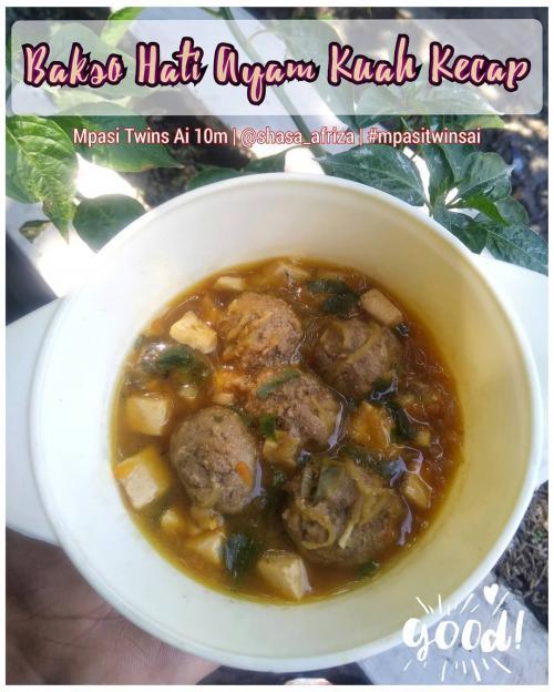 Resep Mpasi Bakso Hati Ayam Kuah Kecap Cocok Untuk Bayi 10 Bulan Okezone Lifestyle