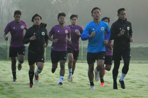 Timnas Indonesia U-19 terus berlatih (Foto: PSSI)