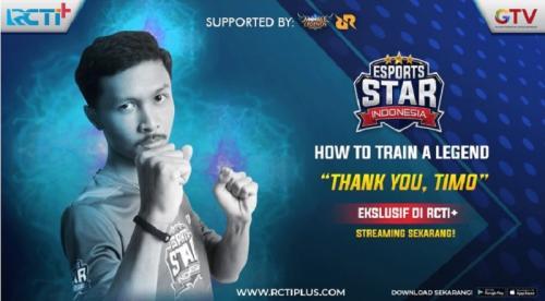 Philip alias Timo merupakan salah satu peserta Esports Star Indonesia dari tim Blue Rhinos.