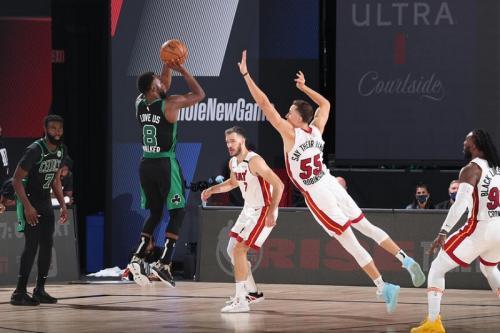 Boston Celtics sempat memimpin jelang kuarter terakhir (Foto: Boston Celtics)