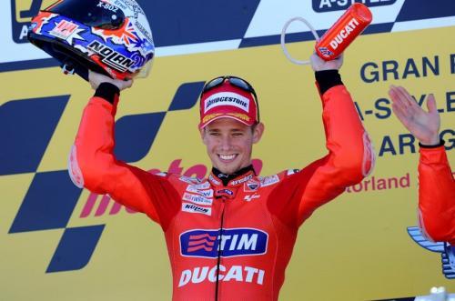 Casey Stoner bawa Ducati juara dunia