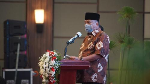 Gubernur Sulut Olly Dondokambey saat pembukaan Konbes GP Ansor di Minahasa. (Dok Humas Pemprov Sulut)