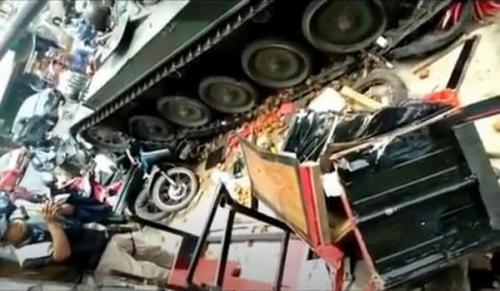 tank tabrak