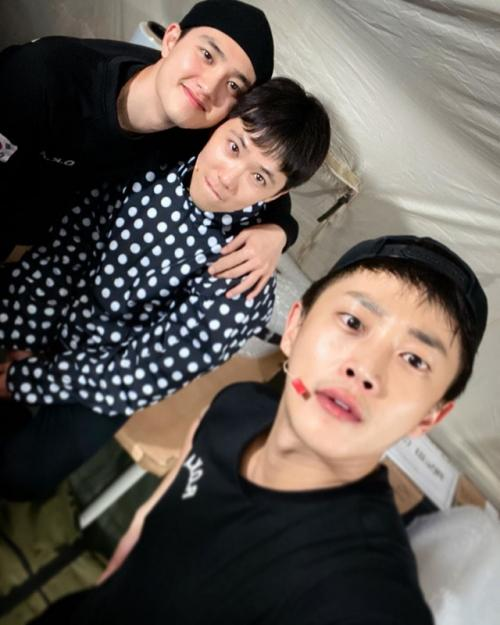 Lee Hong Ki, DO, dan Kim Min Suk.