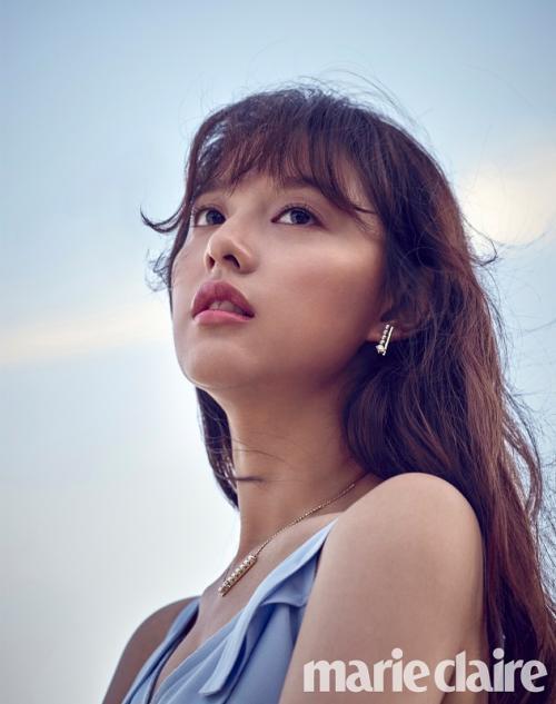 Kim Ji Won. (Foto: Marie Claire)