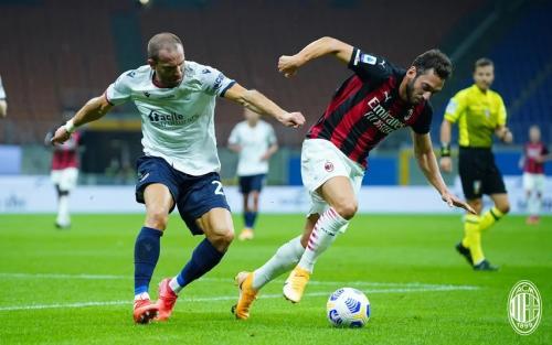 Bologna tumbang di kandang AC Milan (Foto: AC Milan)