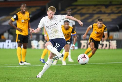 Laga Wolverhampton Wanderers vs Man City