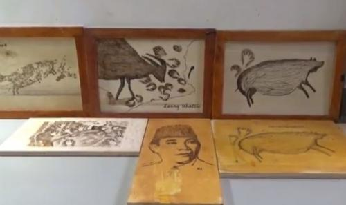 Modal Solder dan Kayu, Bisnis Seni Lukis Bakar Hasilkan Jutaan Rupiah