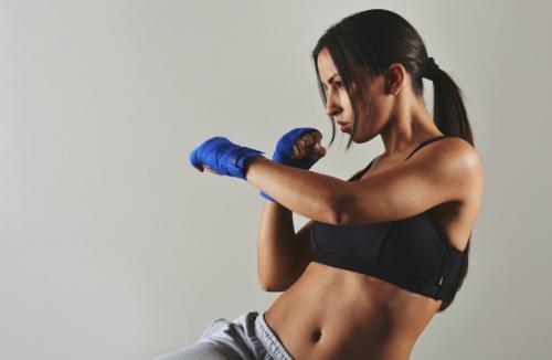 Perempuan Boxing