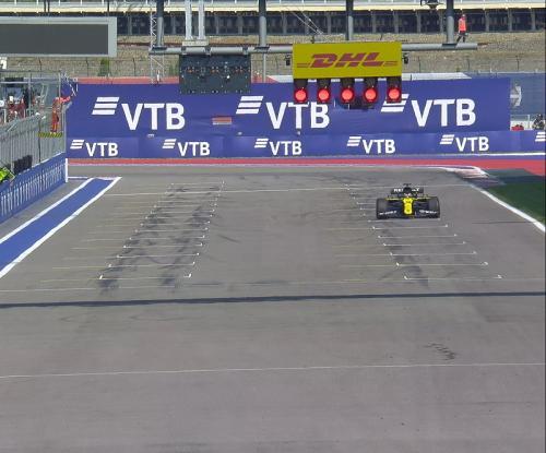 Daniel Ricciardo jadi yang tercepat kedua (Foto: Twitter/@F1)