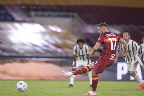 AS Roma vs Juventus (Foto: Twitter/@OfficialASRoma)
