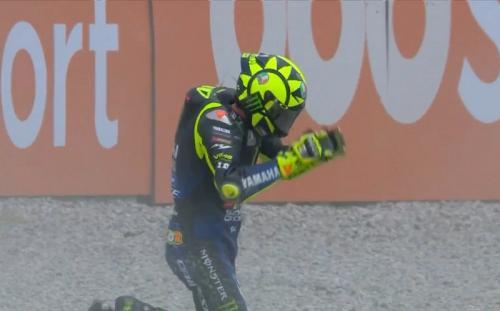 Valentino Rossi (Foto: Twitter/@MotoGP)