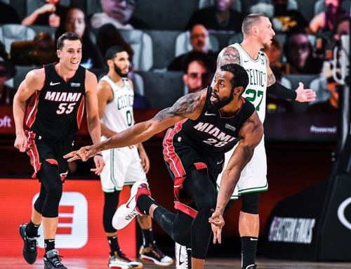 Miami Heat vs Boston Celtics (Foto: Twitter/@MiamiHEAT)