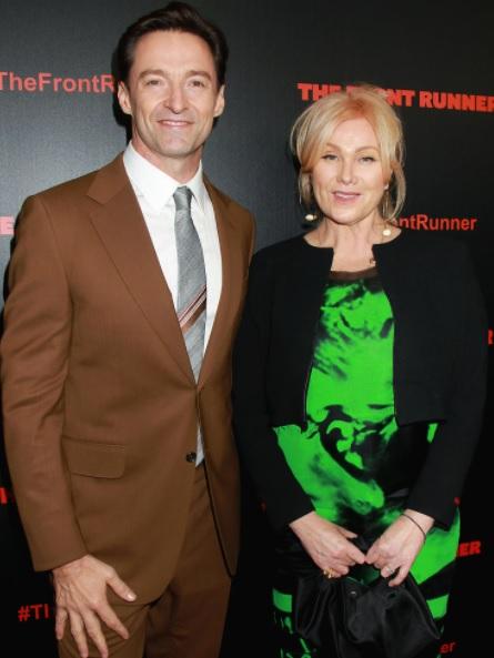 Hugh Jackman dan istri. (Foto: US Weekly)
