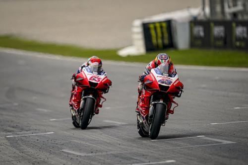 Francesco Bagnaia dan Jack Miller