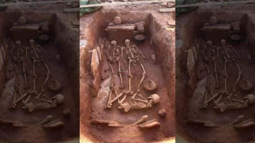 Makam prajurit Zaman Besi ditemukan di Siberia. (Foto: Institute of Archeology and Ethnography Siberian Branch of the Russian Academy of Sciences)