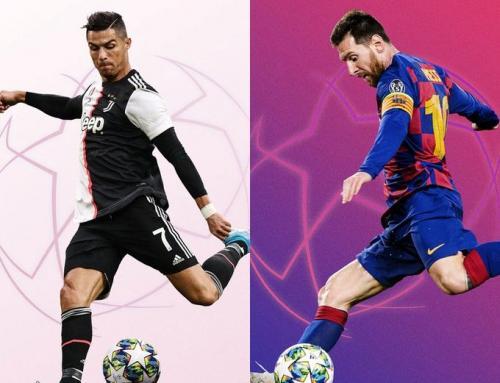 Cristiano Ronaldo dan Lionel Messi (Foto: UEFA)