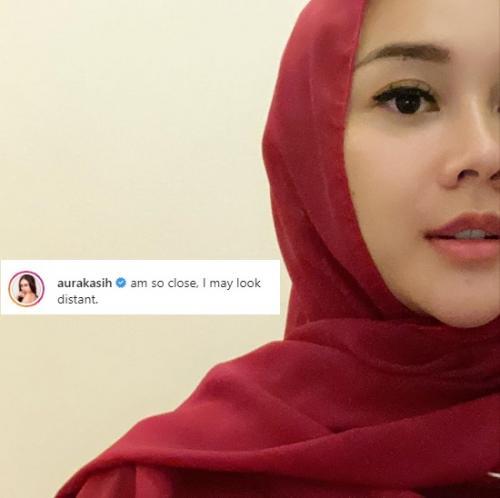 Aura Kasih. (Foto: Instagram/@aurakasih)