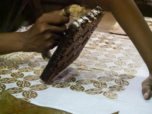 Batik cetak. (Foto: Agto Nugroho/Unsplash)