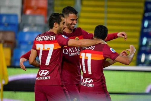 Suasana laga Udinese vs Roma