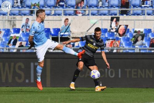 Ivan Perisic vs Lazio (Foto: Twitter/@Inter_en)
