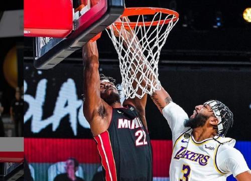 LA Lakers vs Miami Heat (Foto: Instagram/@miamiheat)