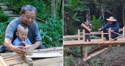 Pria berusia 63 tahun dari Tiongkok Timur berhasil viral di YouTube.