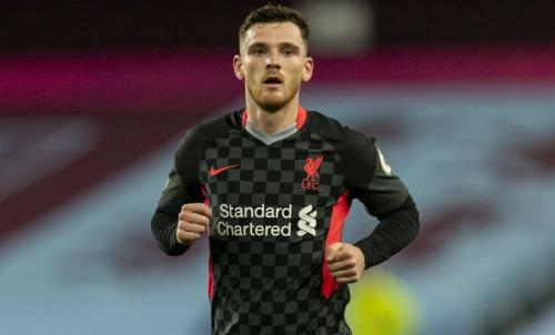 Andy Robertson cedera (Foto: Liverpool)