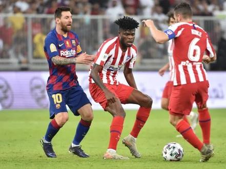 Thomas Partey vs Leo Messi