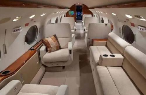 Pesawat jet Lionel Messi