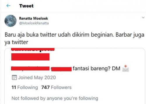 Twitt Renatta Moeloek