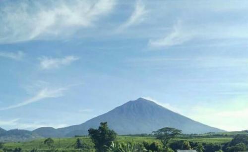 Gunung Kerinci. (Foto: Abimayu/Okezone)