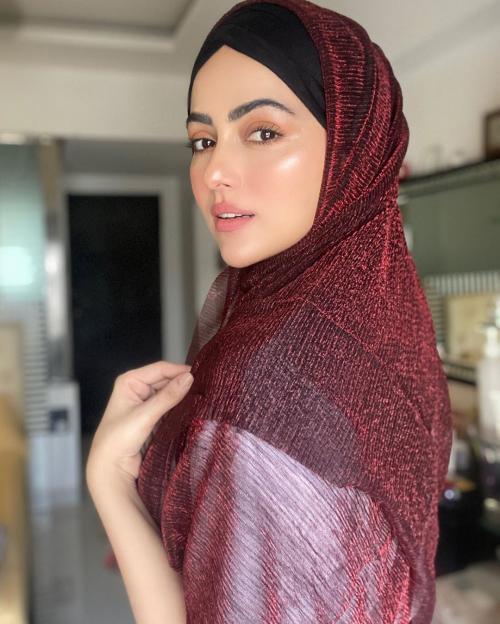 Sana Khan. (Foto: Instagram/@sanakhaan21)