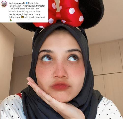 Zaskia Sungkar. (Foto: Instagram/@zaskiasungkar15)