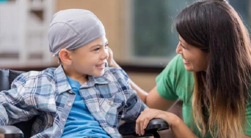 anak menderita kanker