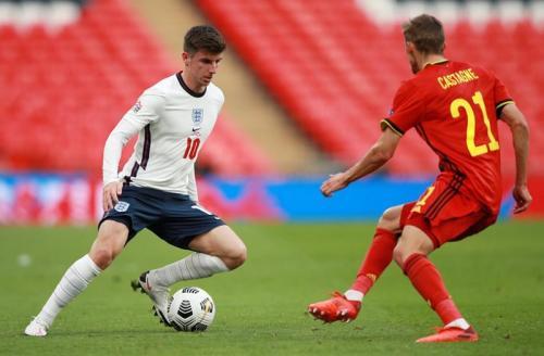 Laga Inggris vs Belgia
