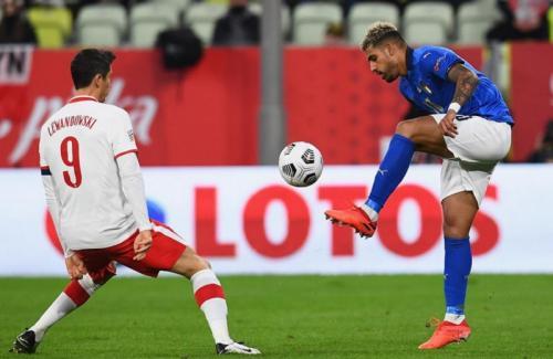 Laga Polandia vs Italia