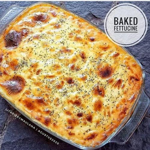 Baked Fettucine